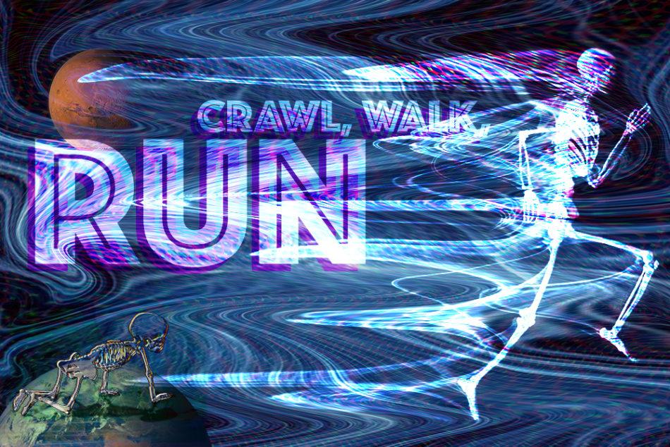 Crawl, Walk, Run (Bruce Scallon)